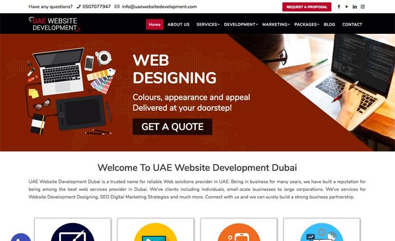 UAE Website Development