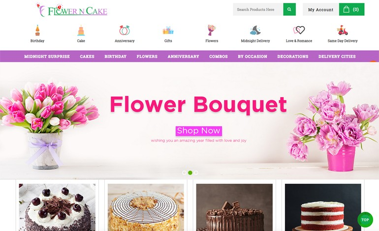 Flowerncake