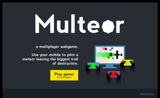 Multeor a multiplayer webgame