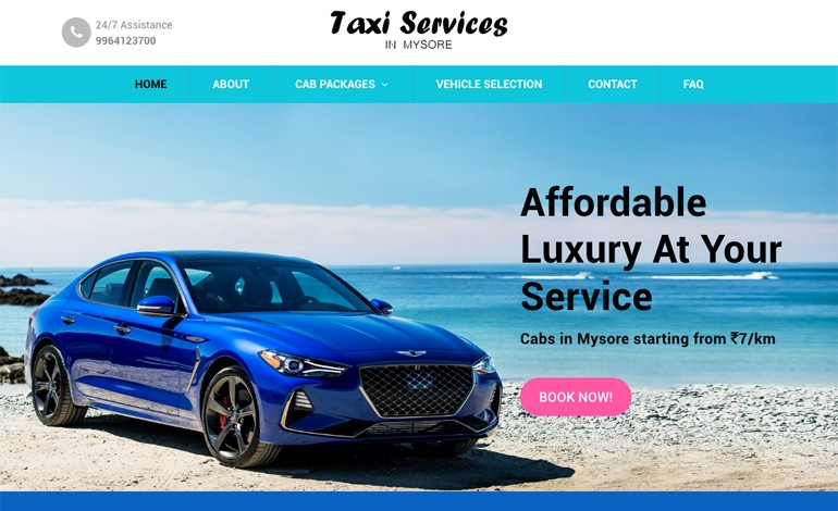 Taxi Services In Mysore