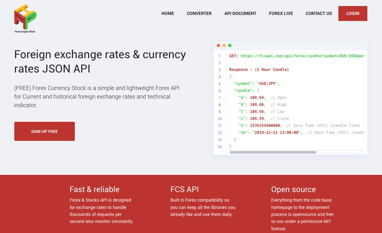 FCS API