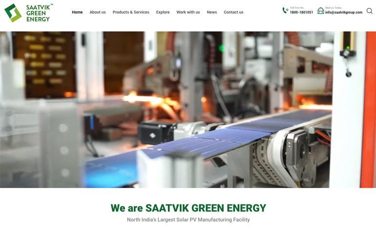 Saatvik Green Energy