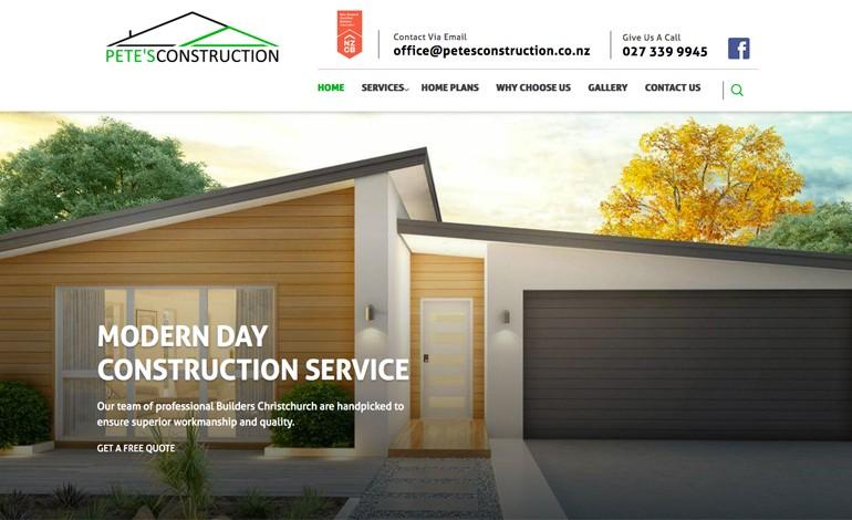 Petes Construction