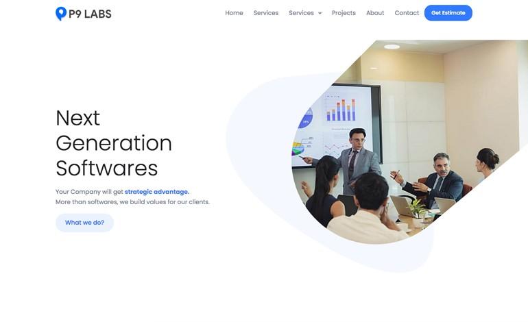 Web Design and Development P9 Labs Inc SEO Experts Surat