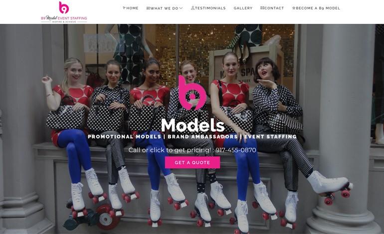 B9 Model Event Staffing