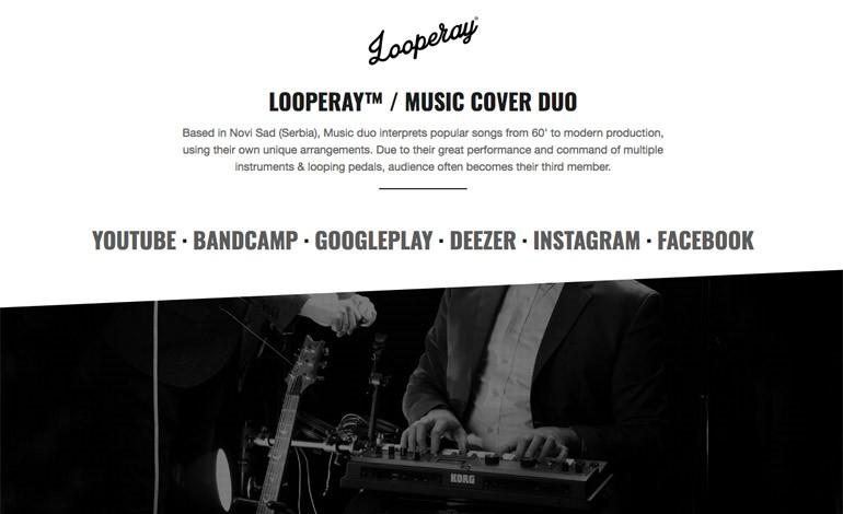 LOOPERAY MUSIC COVER DUO