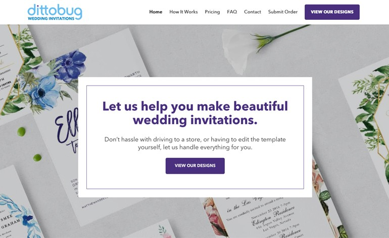 Dittobug Wedding Invitations