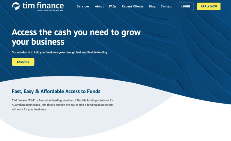 Tim Finance