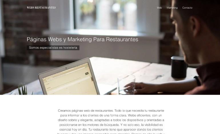 Webs Restaurantes
