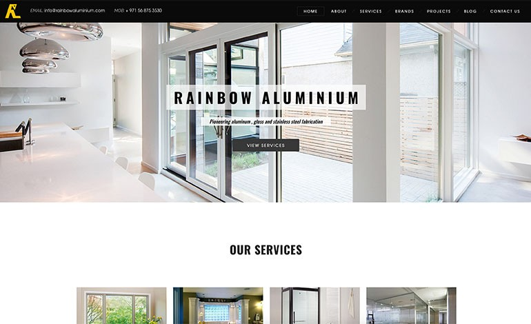Rainbow Aluminium