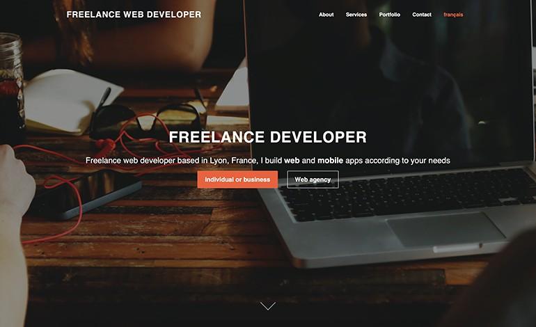Pierre Portejoie Freelance Developer