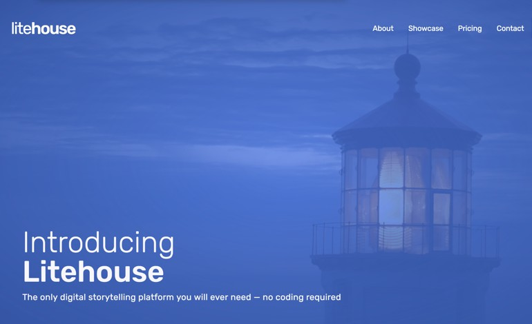 Litehouse digital storytelling platform
