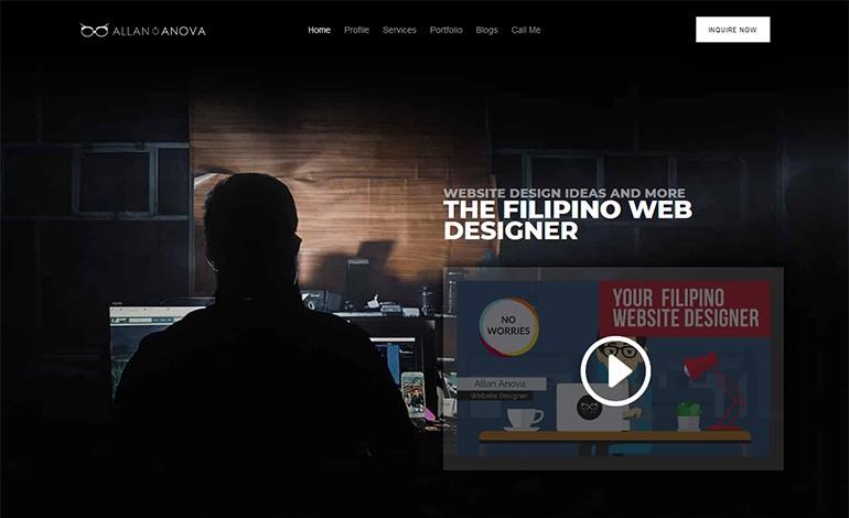 Allan Anova Filipino Web Designer