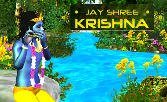 Krishna Live Wallpaper 3D