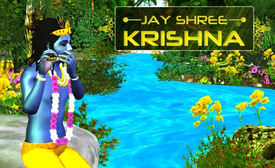 Krishna Live Wallpaper 3D