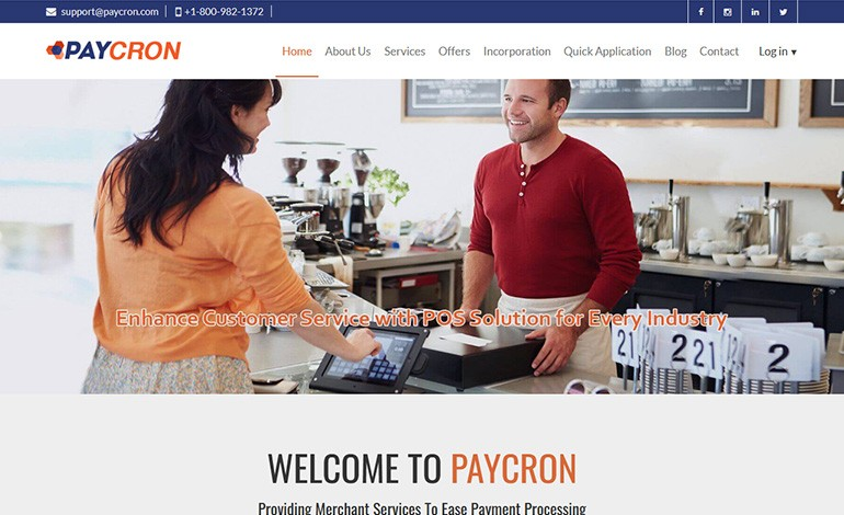 Paycron Inc