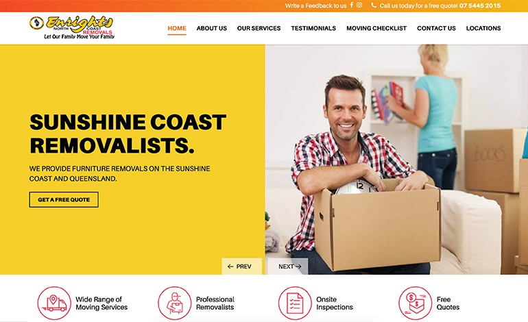 Enrights Sunshine Coast Removalist