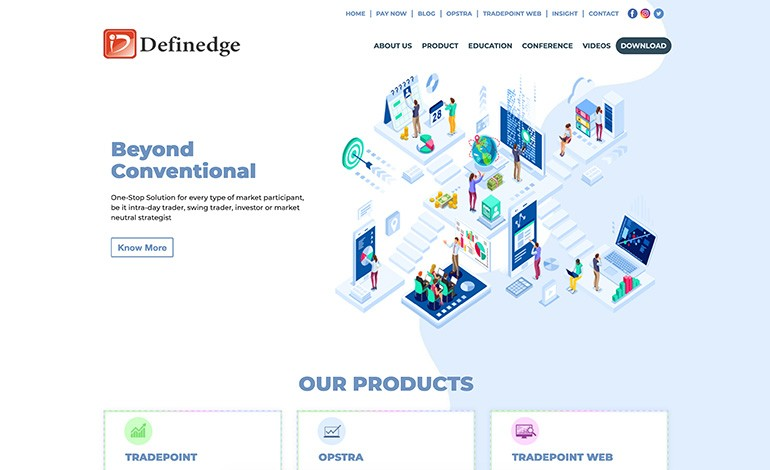 Definedge Solutions