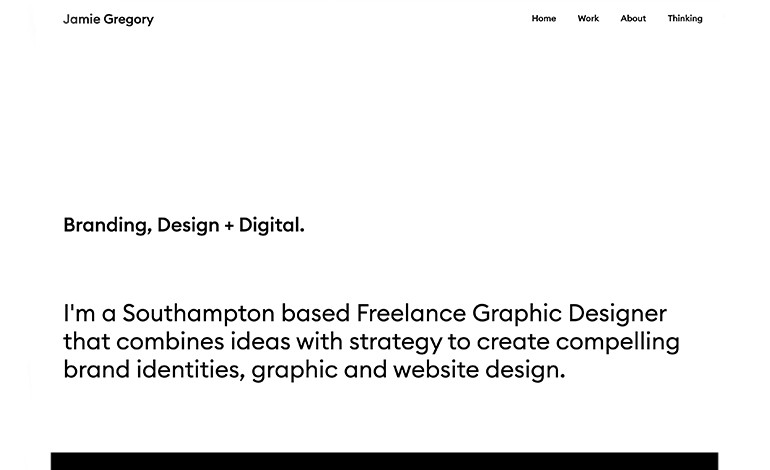 Jamie Gregory Freelance Graphic Designer