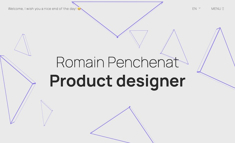 Romain Penchenat Portfolio