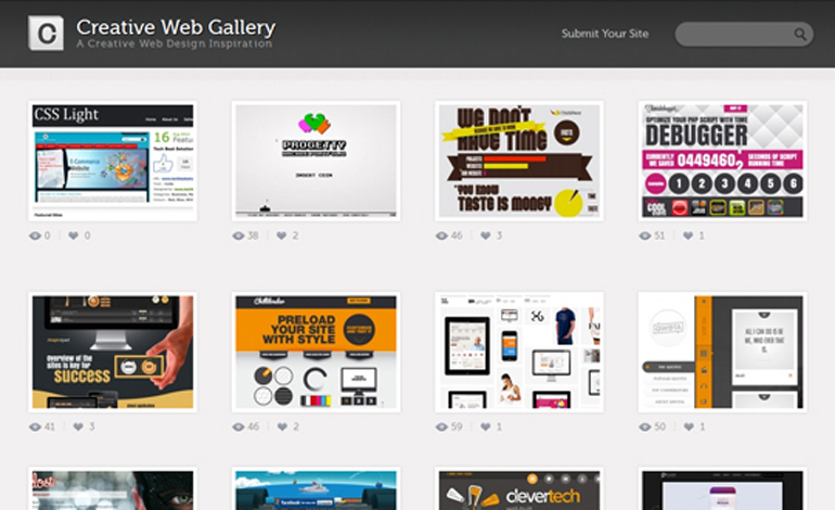 Creative Web Gallery