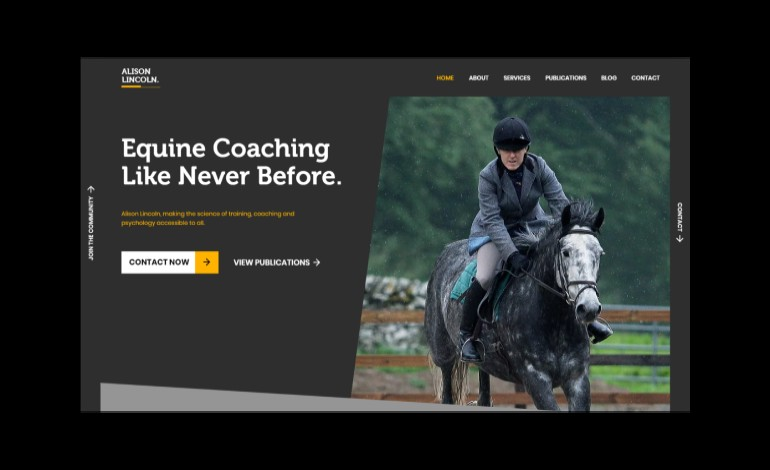 Alison Lincoln Equine Sports Coach