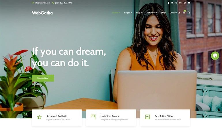 WebGatha Multipurpose WordPress Theme