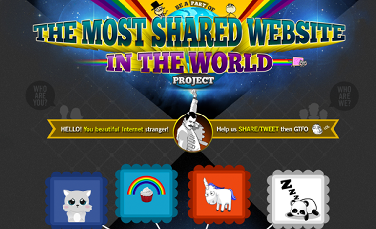 The most shared site in the World