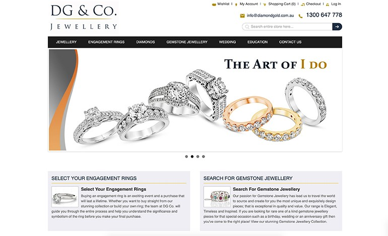 DG and CO Jewellery