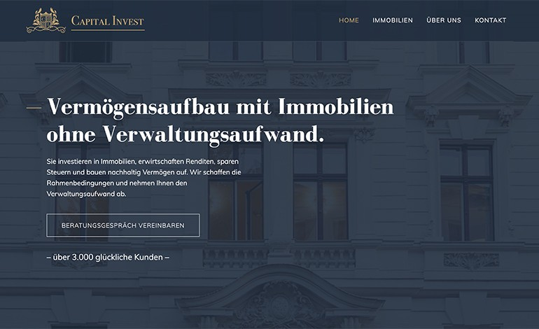 Capital Invest Real Estate Company
