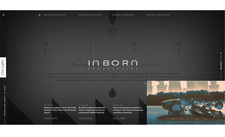 INBORN PROGRESSIVE  Advertising