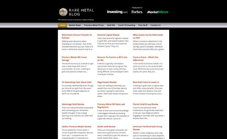 Rare Metal Blog
