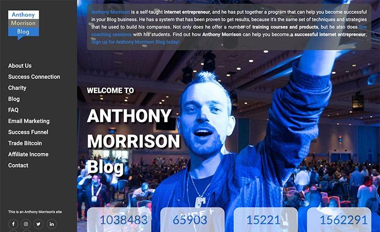 Anthony Morrison Blog