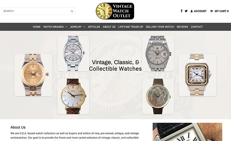 Vintage Watch Outlet