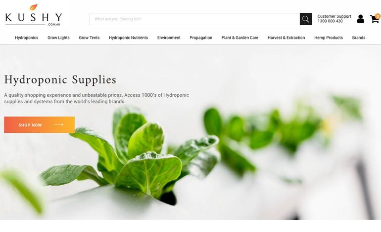 Kushy Hydroponic Supplies Equipment