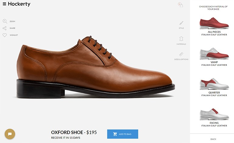 Hockerty Custom Dress Shoes