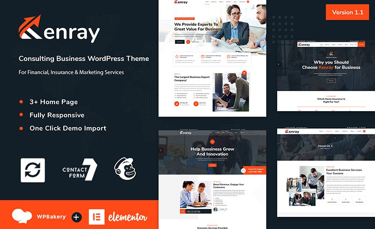 Kenray Consulting Business WordPress Theme