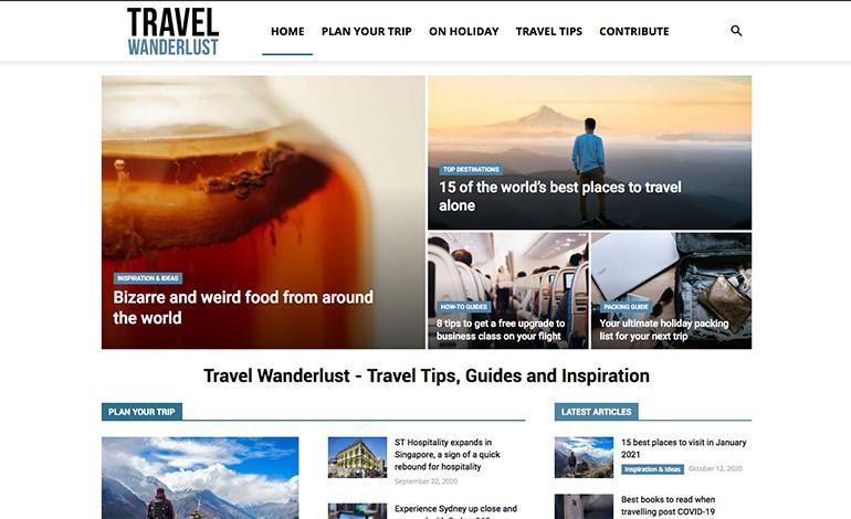 Travel Wanderlust