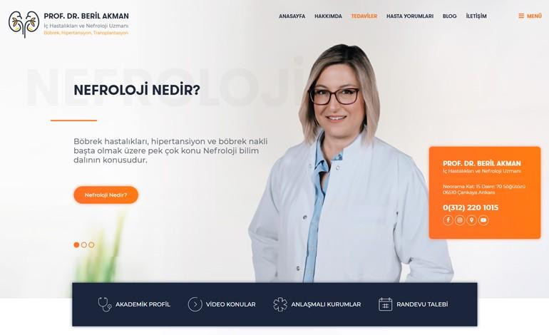 MD Beril Akman Nefroloji