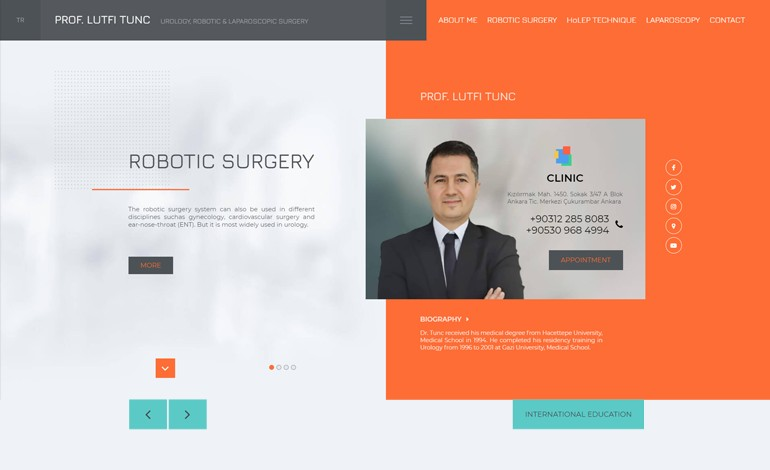 Md Lutfi Tunc Robotic Surgery