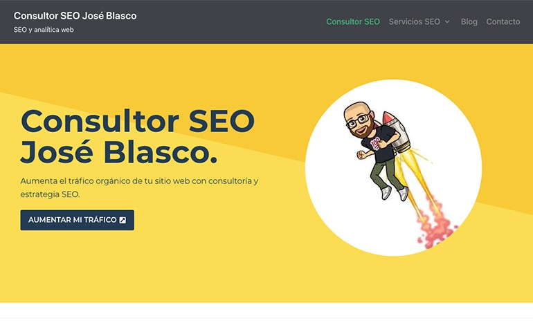 Consultor SEO Jose Blasco