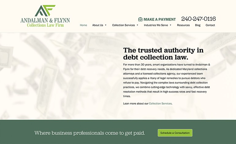 Andalman and Flynn Collections Law Firm