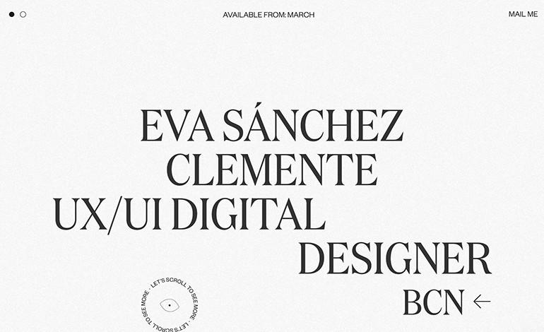 Eva Sanchez Portfolio 2020