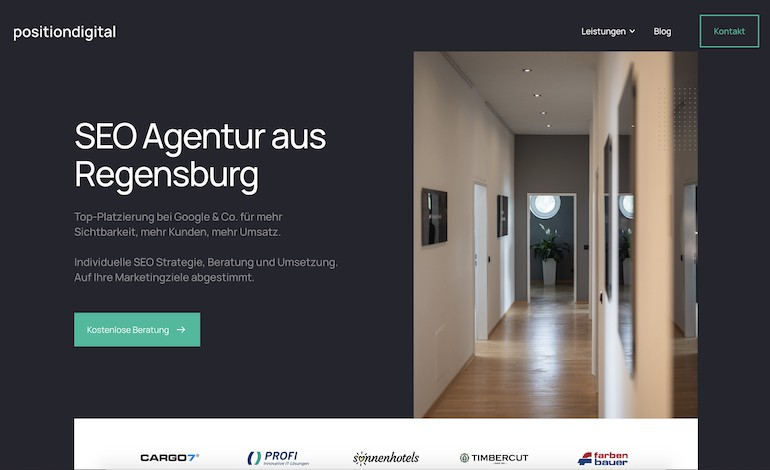 Position Digital Agentur Regensburg