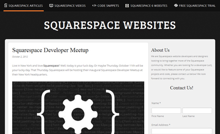 Squarespace Websites
