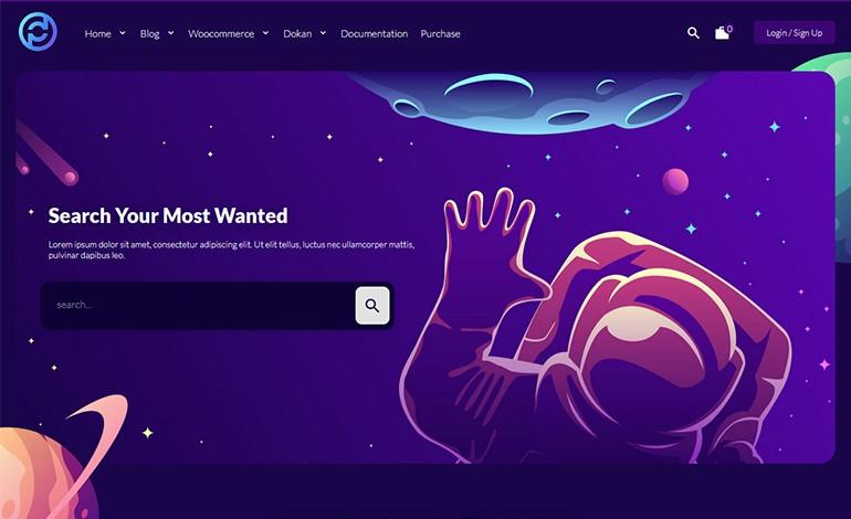 Pdmarket Modern Marketplace WordPress Theme