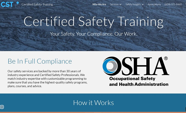 Certified Safety Training