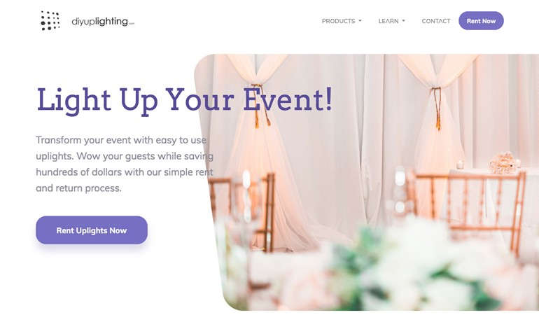 DiyUplighting Your Uplighting eCommerce store