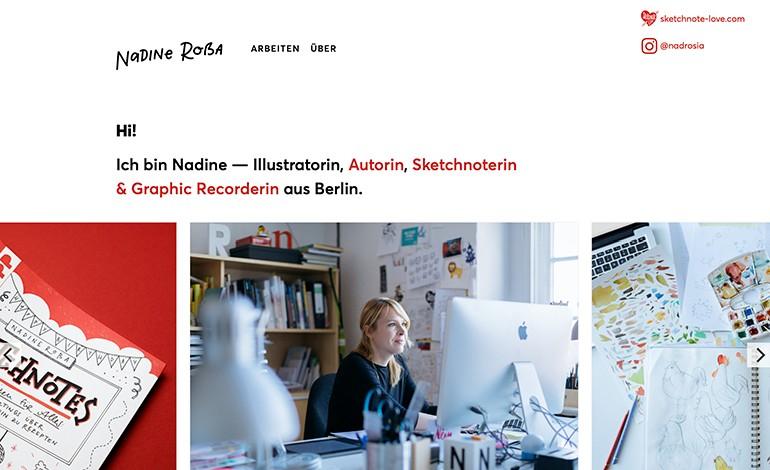 Nadine Rossa Portfolio