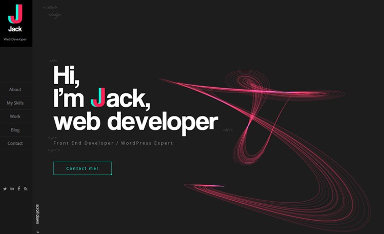 JJ web developer portfolio